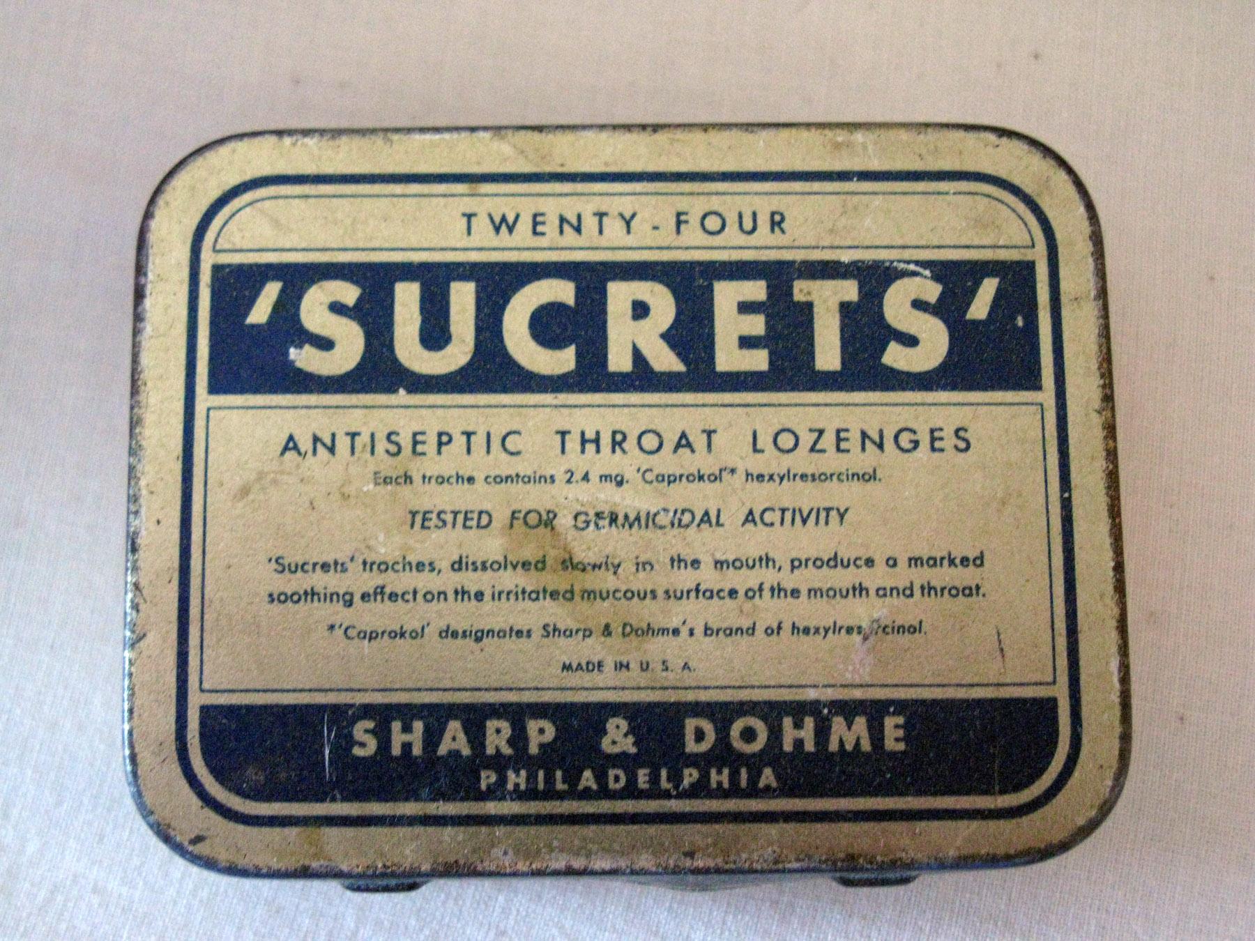 Image result for sucrets box