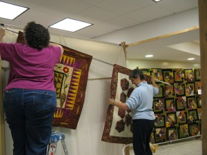 anne-f-and-mary-anne-hang-quilts