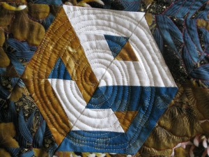 Jennie quilt spiral