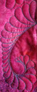 Mary Anne quilt feather 1