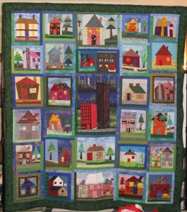 full view house quilt Common Ground