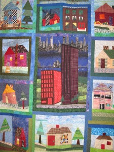 house quilt center front Common Ground