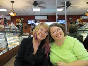 Paula and me Little Italy dessert first