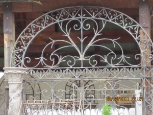 uhw wrought iron fence and gate
