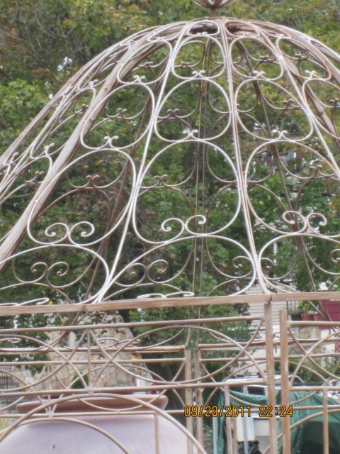 uhw wrought iron gazebo