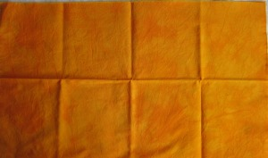 ally hand dyes orange