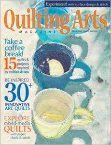 Quilting Arts April May Cover