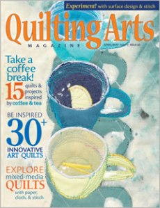 Quilting Arts April May Cover
