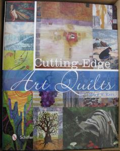Teri Lucas cutting edge art quilts front cover cropped