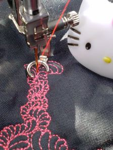my brain on quilting hello kitty