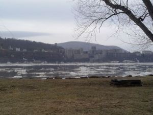West point from Garrison landing
