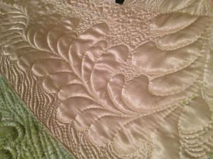 Ellen Craig feather close up