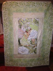 Ellen Craig feather full quilt