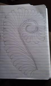 Mandy Applebee feather paper