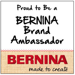 BERNINA Ambassador Blog Tour Day 2