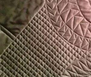 Chocolate Swirl cross hatching