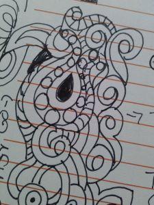 doodle quilting practice