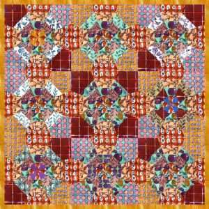 meadowlark play spider quilt