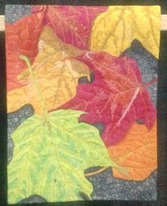 Susan Brubaker Knapp leaf quilt