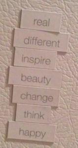 fridge words