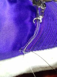 whole cloth starting metallic
