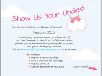 Show us your undies front