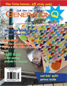Gen Q Front Cover July August