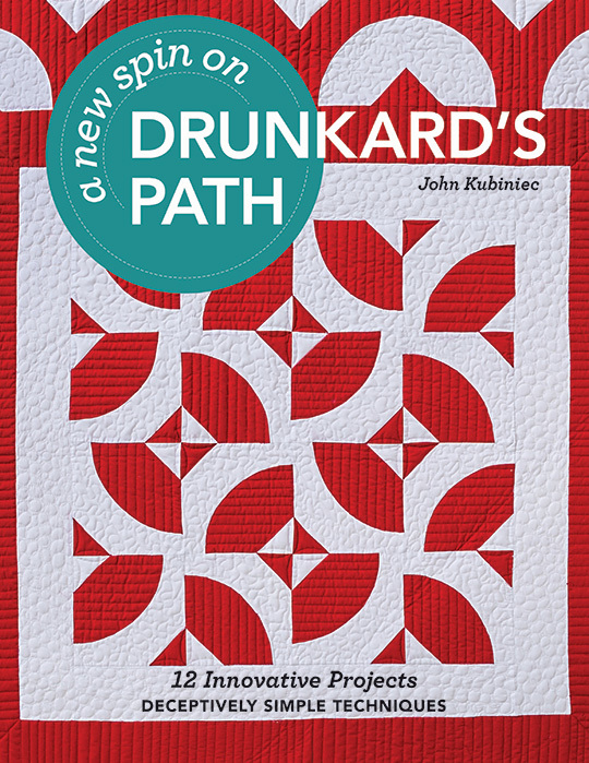 A New Spin on Drunkards Path by John Kubiniec