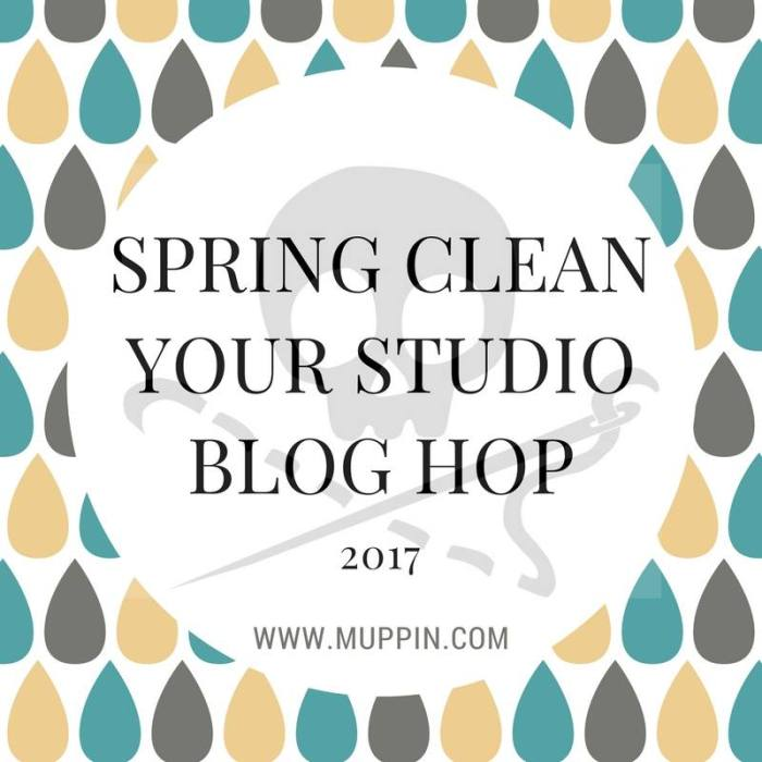 Spring Clean Your Studio Blog Tour Day 1