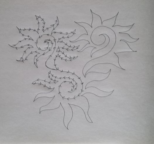 spiral sun yay