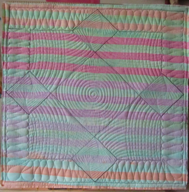 block complete back of quilt