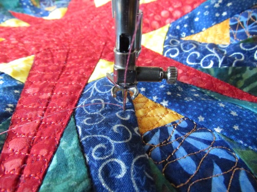 bury thread step two drop needle
