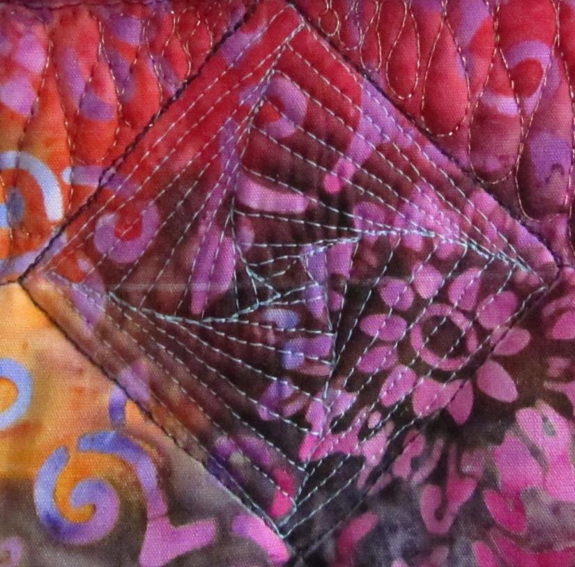 in block stitching square
