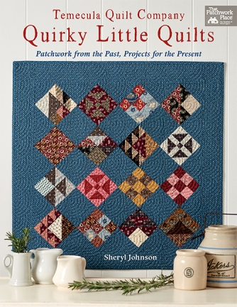 Quirky Little Quilts Cover Image
